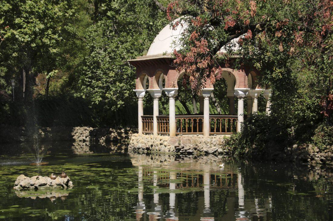 Séville: Jardin du palais de San Telmo