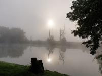 La Seine un jour d'automne
